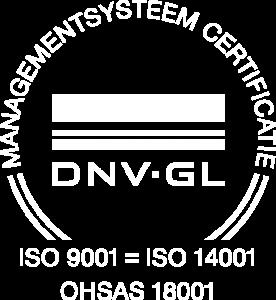 ISO certificaat UTS van den Berg verhuizigen Breda