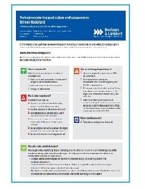 Consumentenbijsluiter Garantiecertificaat (IPID)